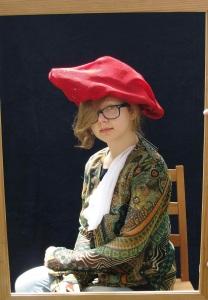 Amelia w Czerwonym Kapeluszu
