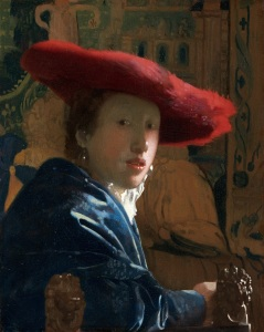 Jan Vermeer van Delft (1632 -1675) Dziewczyna w czerwonym kapeluszu