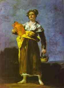 Francisco Goya (1746 – 1828) Dziewczyna z Dzbanem