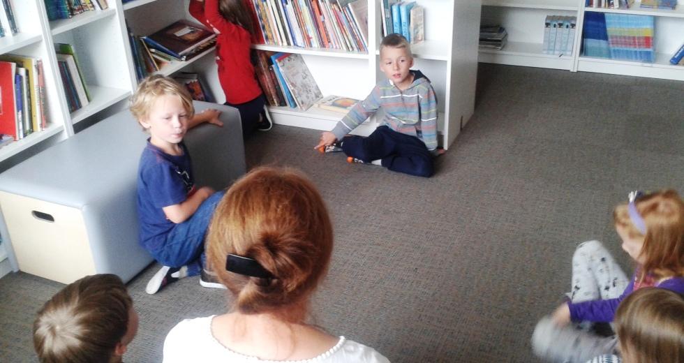 Zerówka w bibliotece
